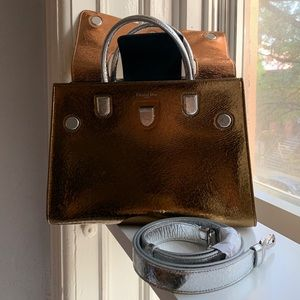 Dior Diorever Metallic Handbag